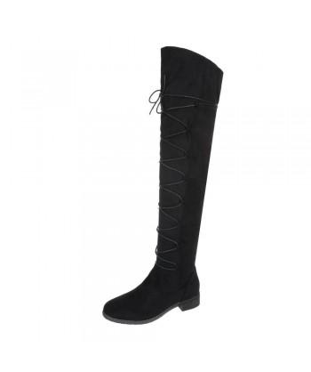 Visoki modni škornji nad koleni - RAZPRODANO