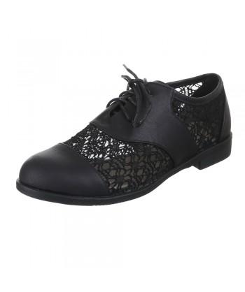 Oxford čevlji s čipko