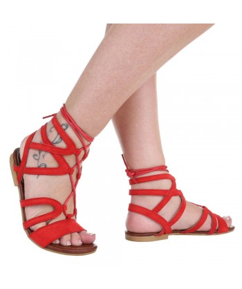 Gladiatorke modne z vrvicami