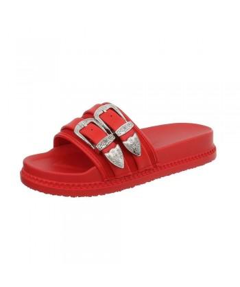 Natikači rdeči 'papuči' iz nove modne kolekcije