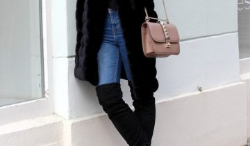 Škornji nad koleni so modna ženska obutev, ki v kolekciji ne sme manjkati