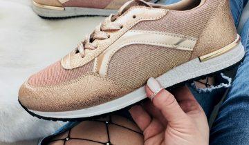 Modni ženski čevlji v rose gold odtenkih