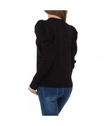 Modni pulover z nabranimi rokavi
