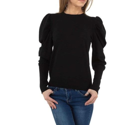 Modni pulover z nabranimi rokavi iz nove kolekcije